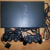 Vand Playstation2 Sony (modat) + 2 joystick-uri + 19 jocuri