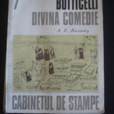 A. E. BACONSKY - BOTTICELLI DIVINA COMEDIE* CABINETUL DE STAMPE {1977} - Roman