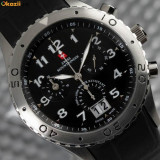 CEAS de LUX elvetian SWISS MOUNTAINEER 10ATM WATER RESISTANT, Chronograph 1/20 sec PROFESIONAL
