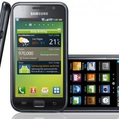 Vand telefon Samsung Galaxy S - Telefon mobil Samsung Galaxy S, Negru, 8GB, Neblocat