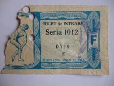 Bilet meci fotbal STEAGUL ROSU BRASOV - ESPANOL BARCELONA (Cupa Oraselor Targuri-02.03.1966) - R foto