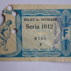 Bilet meci fotbal STEAGUL ROSU BRASOV - ESPANOL BARCELONA (Cupa Oraselor Targuri-02.03.1966) - R