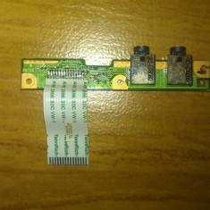 CONECTOR AUDIO LAPTOP COMPAQ CQ60 554H5020013 - Cabluri si conectori laptop Compaq, Conectori audio