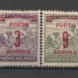 Ungaria.1922 Porto-supr. SU.325