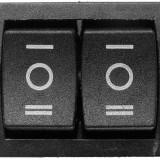 Comutator dublu, ON-OFF-ON, 6A/250V - 170170