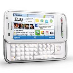 Vand nokia c6-00 white - Telefon mobil Nokia C6, Alb, Neblocat