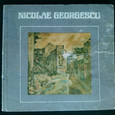 NICOLAE GEORGESCU - REALITATE SI IMAGINE Ed. sport - turism 1983 - Album Pictura