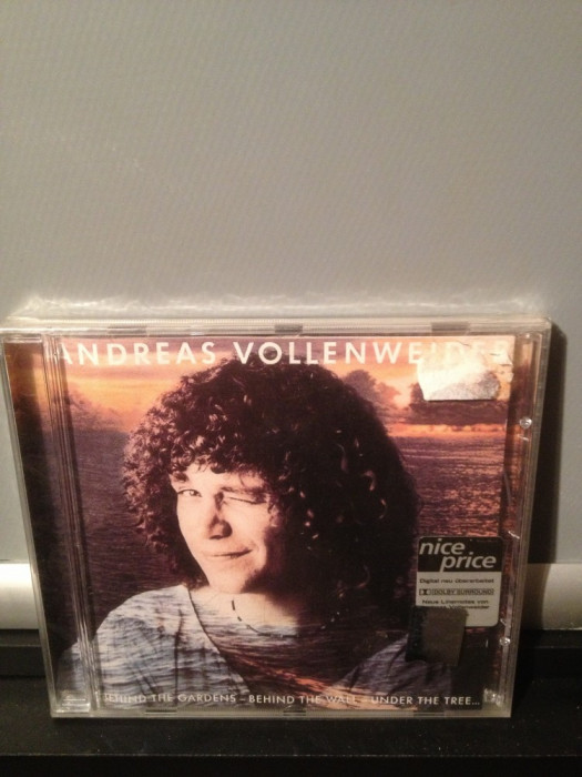 ANDREAS VOLLENWEIDER - BEHIND THE GARDENS.(1981/2005/CBS/AUSTRIA) cd nou/sigilat