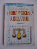 TEORIA  GENERALA  A  DREPTULUI - Conf.univ.dr. Costica  Voicu, Alta editura