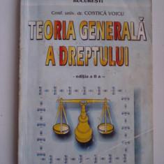TEORIA GENERALA A DREPTULUI - Conf.univ.dr. Costica Voicu - Carte Teoria dreptului