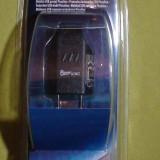 Incarcator adaptor 100-240W USB mobil mp3 Player conexiune USB Power King  NOU