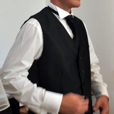 Camasa barbat+ vesta si lavaliera