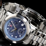 CEAS de LUX elvetian SWISS MOUNTAINEER , Chronograph , data 10 ATM