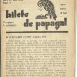 (C)    BILETE DE PAPAGAL  NR. 397   /    27   MAI    1929, Alta editura