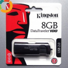 Vand stick USB Kingstone flash drive, 8 GB, USB 2.0