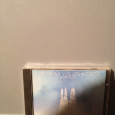 ANDREAS VOLLENWEIDER - WHITE WINDS (1984/1996/CBS/CANADA)-NEW AGE cd nou/sigilat - Muzica Rock Columbia