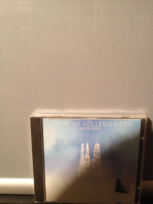 ANDREAS VOLLENWEIDER - WHITE WINDS (1984/1996/CBS/CANADA)-NEW AGE cd nou/sigilat