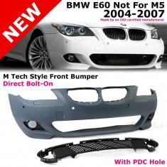 Bara fata Mtech BMW seria 5 E60 cu PDC SRA - Bara Fata Tuning Diederichs, 5 (E60) - [2003 - 2013]