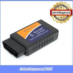 Interfata auto multimarca tester ELM327 -  Bluetooth + BONUS Scanmaster FULL!