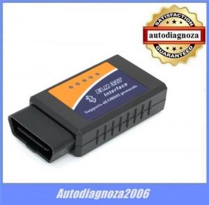 Interfata auto multimarca tester ELM327 -  Bluetooth + BONUS Scanmaster FULL!