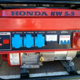SE VINDE GENERATOR HONDA PE BENZINA DE 5.5KW 220V ;380V  SI 12V