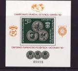 BULGARIA 1981 FOTBAL CAMPIONATUL MONDIAL DIN SPANIA - COTA IN MICHEL CAT 25 EURO