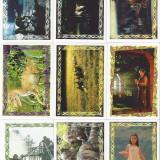 9 stickere Jurassic Park IL Mondo Perduto 1997 Merlin