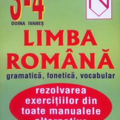 LIMBA ROMANA - GRAMATICA, FONETICA, VOCABULAR - Doina Ivanes (Clasele III-IV), Alta editura
