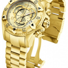 Invicta Reserve Excursion Swiss Quartz 14473 Original - Ceas barbatesc Invicta, Casual, Placat cu aur, Cronograf