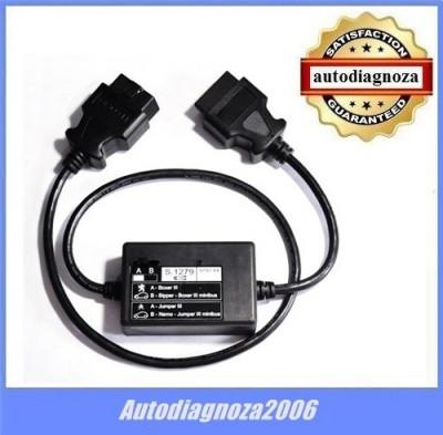 Cablu adaptor S.1279  - PP2000 tester Lexia3  Citroen Peugeot Boxer 3 Jumper 3 foto