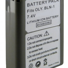 Acumulator Olympus BLN-1 BLN1 100% compatibil Olympus PEN E-P5 | OM-D E-M1 | OM-D E-M5