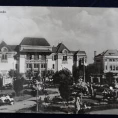 Vedere din Buzau - circulata 1965 -RPR - Carte Postala Muntenia dupa 1918