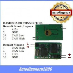 Emulator auto ECU - Renault CAN.BUS - Emulator pentru Instrument Cluster ! EuropeAsia