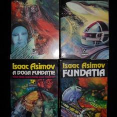 Isaac Asimov, Marginea fundatiei+Fundatia si pamantul+Fundatia renascuta - Roman