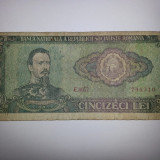 50 lei 1966 - Bancnota romaneasca