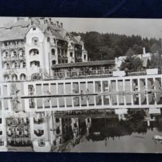 Ocna Sibiului - Pavilionul central al bailor - circulata 1962 - RPR