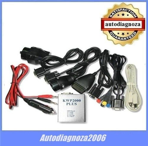 Interfata tuning auto KWP 2000 plus - KWP2000 + BONUS DVD mape tunning !
