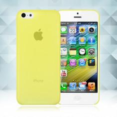 Husa plastic 0,3 mm Iphone 5C 5 C