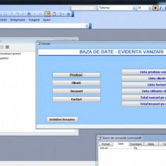 Proiect Baza de date Access - Evidenta vanzari - Solutii business