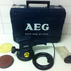 AEG EXE 460,, Slefuitoare Exentrica '' - Rindea electrica