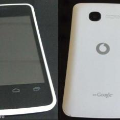 Vodafone smart mini - Telefon mobil Vodafone, Alb, Neblocat, Single core, 512 MB, 3.5''