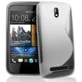 Husa Gel TPU S-Line HTC Desire 500 Transparenta