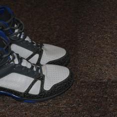 Papuci/Shoes Baschet (purtati doar in momentul in care au fost probati) - Adidasi barbati Everlast, Marime: 44.5, Culoare: Alb