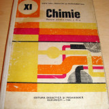 CHIMIE - manual pentru clasa a XI a - 1986 - Manual scolar, Clasa 11