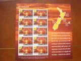 Noua  Zeelanda 2000    Anul Nou     harti   mi  1813  klb     MNH