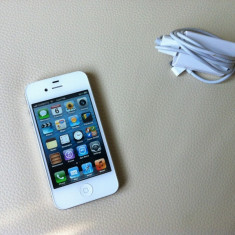 iPhone 4s Apple alb, 16 gb stare ireprosabila, Neblocat