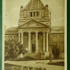 Arad- Palatul Cultural - '57 circulat - Carte Postala Crisana dupa 1918
