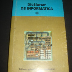 DICTIONAR DE INFORMATICA {1981}