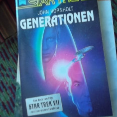 CARTE IN GERMANA-STAR TREK -GENERATIONEN