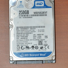Hard Disk, Hdd Laptop Western Digital, 250GB